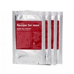Recipe For Men Under Eye Patches 4 Kpl Silmänympärysvoide