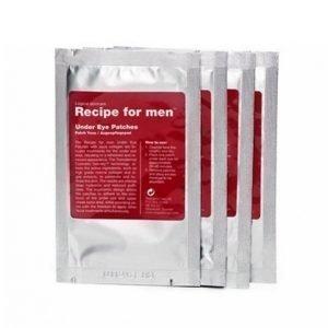 Recipe For Men Under Eye Patches 4 Kpl Silmänympärysvoide