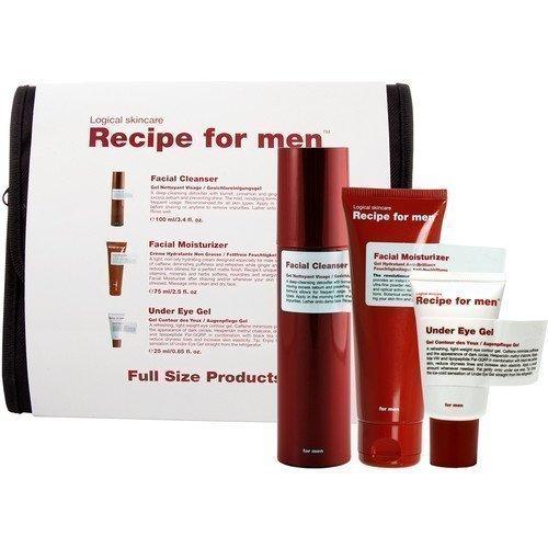 Recipe for Men 3-Way Gift Bag White