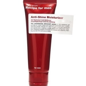 Recipe for men Anti-Shine Facial Moisturizer 75ml