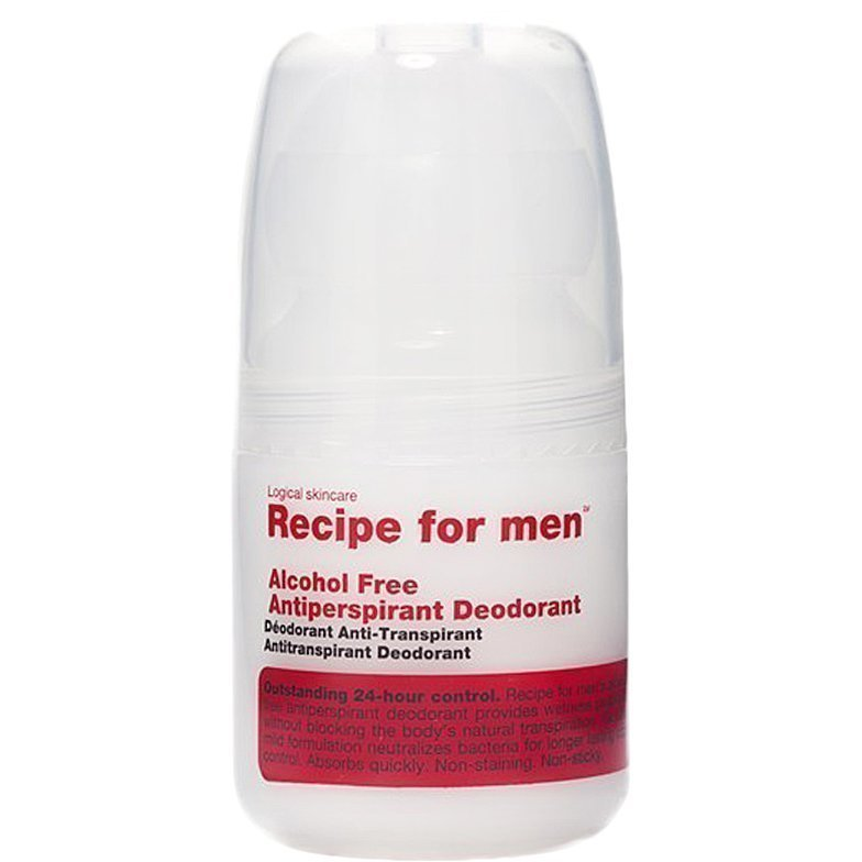 Recipe for men Antiperspirant Deodorant Alcohol Free Alcohol Free 60ml