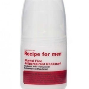 Recipe for men Antiperspirant Roll- on 60 ml
