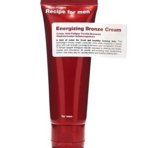 Recipe for men Energizing Bronze Cream 75ml