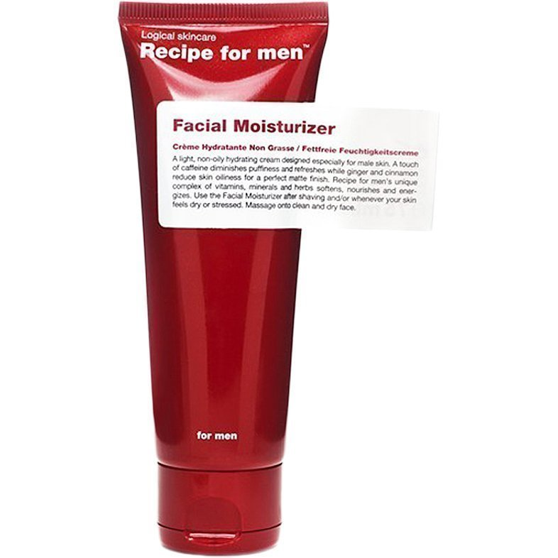 Recipe for men Facial Moisturizer 75ml