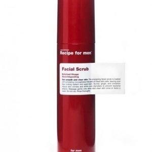 Recipe for men Facial Scrub 125 ml