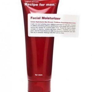 Recipe for men Moisturize Facial Moisturizer 75 ml
