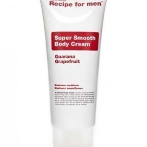 Recipe for men Super Smooth Body Cream 200 ml