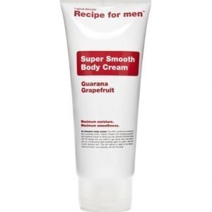 Recipe for men Super Smooth Body Cream 200ml