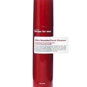 Recipe for men Ultra Sensitive Facial Cleanser 100ml