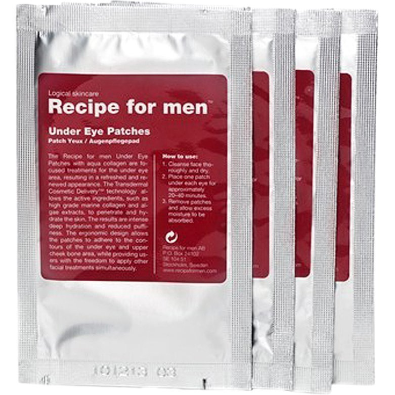 Recipe for men Under Eye Patches 4 Patches