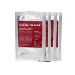 Recipe for men Under Eye Patches 4pcs