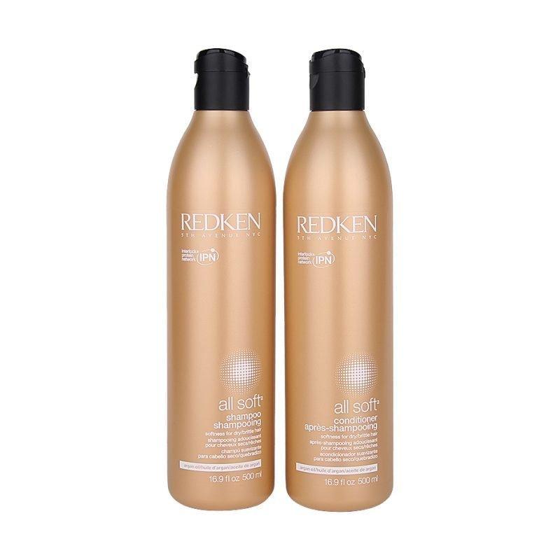 Redken All Soft Duo Shampoo 500ml Conditioner 500ml