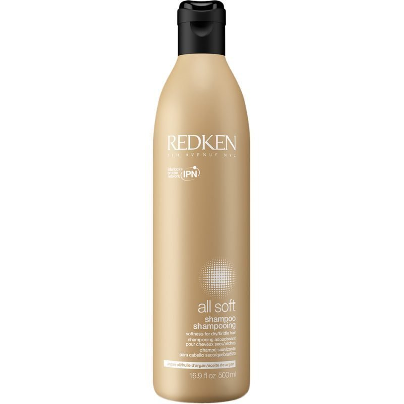 Redken All Soft Shampoo 500ml