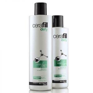Redken Cerafill Defy Shampoo 290 Ml & Conditioner 245 Ml Bundle