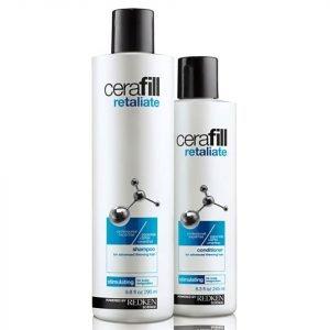 Redken Cerafill Retaliate Shampoo 290 Ml & Conditioner 245 Ml Bundle