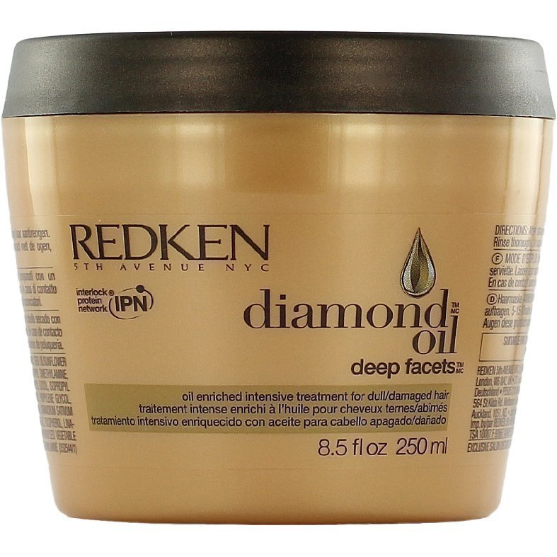 Redken Diamond Oil Deep Facets Hair Mask 250ml