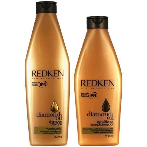 Redken Diamond Oil Duo Shampoo 300ml Conditioner 250ml