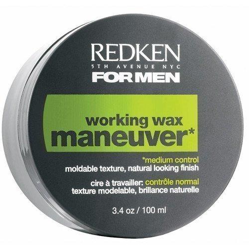 Redken For Men Working Wax Maneuver