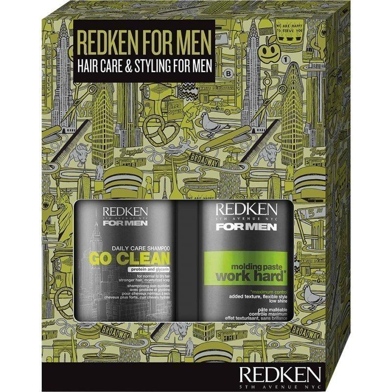 Redken Go Clean Set Shampoo 300ml Paste 100ml