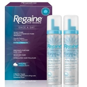 Regaine Women's 5% Foam 2 X 60 G