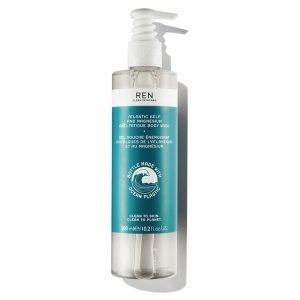 Ren Atlantic Kelp And Magnesium Anti-Fatigue Body Wash 300 Ml Ocean Plastic