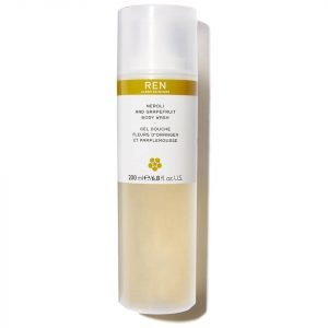 Ren Neroli And Grapefruit Zest Body Wash 200 Ml