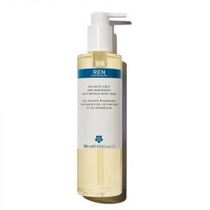 Ren Skincare Atlantic Kelp And Magnesium Anti-Fatigue Body Wash 300 Ml