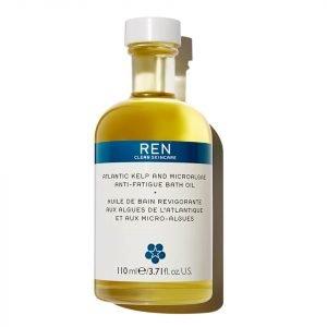 Ren Skincare Atlantic Kelp And Microalgae Anti-Fatigue Bath Oil 110 Ml