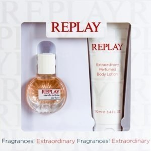 Replay For Her Lahjapakkaus Edt 20 Ml + Body Lotion 100 Ml