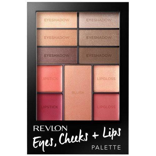 Revlon Cheeks Eye + Lips Palette Romantic Nudes