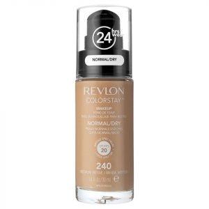 Revlon Colorstay Foundation For Normal / Dry Skin 30 Ml Various Shades Medium Beige