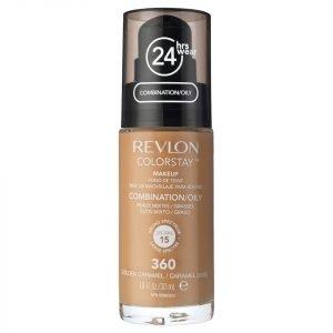 Revlon Colorstay Make-Up Foundation For Combination / Oily Skin Various Shades Golden Caramel