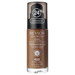 Revlon Colorstay Make-Up Foundation For Combination / Oily Skin Various Shades Mocha