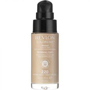 Revlon Colorstay Make-Up Foundation For Normal / Dry Skin Various Shades Natural Beige