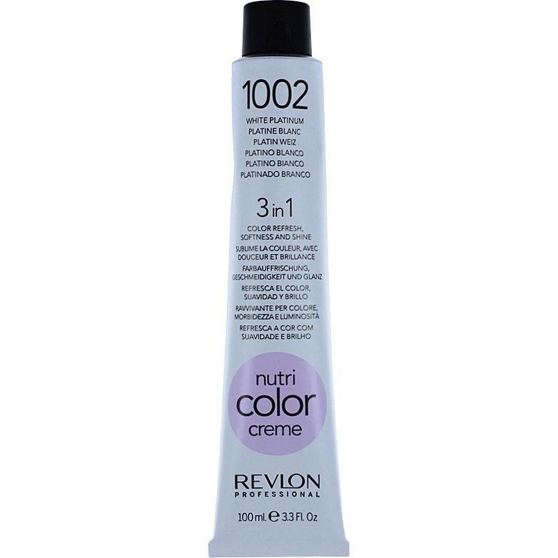 Revlon Nutri Color Creme 1002 White Platinum 100ml