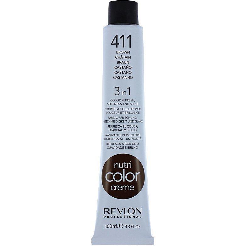 Revlon Nutri Color Creme 411 Brown 100ml