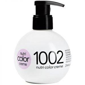 Revlon Professional Nutri Color Creme 1002 White Platinum 270 Ml