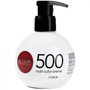 Revlon Professional Nutri Color Creme 500 Purple Red 270 Ml