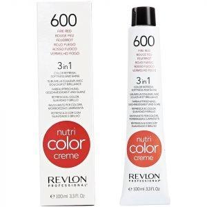 Revlon Professional Nutri Color Creme 600 Fire Red 100 Ml