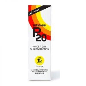 Riemann P20 Once A Day Sun Protection Spray Spf15 100 Ml