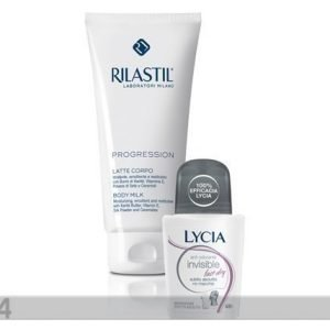 Rilastil Vartalovoide Rilastil Progression 200ml+Roll-On Deodorantti Lycia Invisble 50ml
