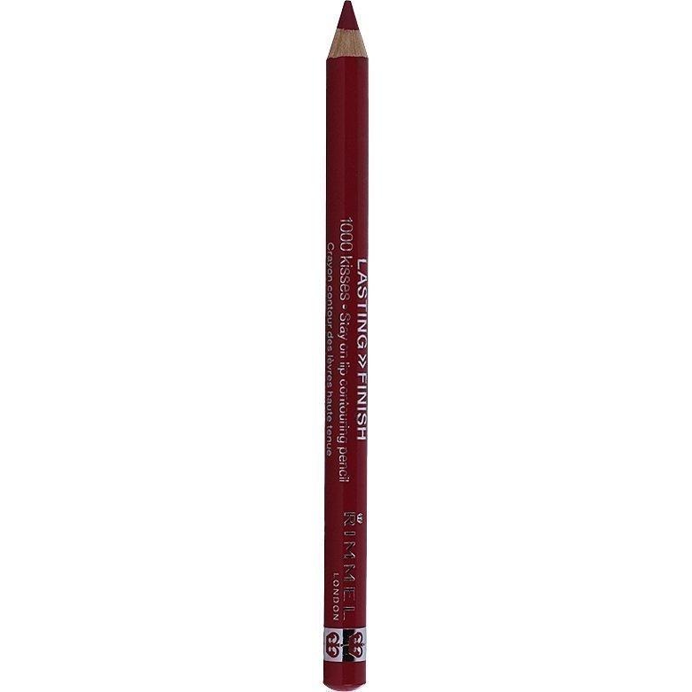 Rimmel 1000 Kisses Stay On Lip Pencil 004 Indian Pink 1