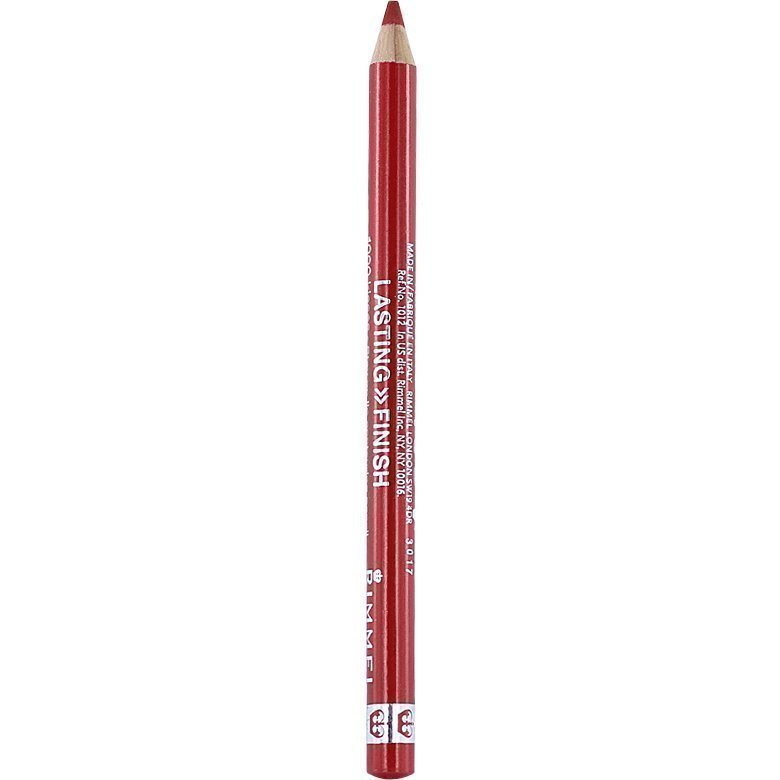 Rimmel 1000 Kisses Stay On Lip Pencil 021 Red Dynamite 1