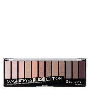 Rimmel 12 Pan Eyeshadow Palette Blushed Edition 14 G