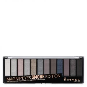 Rimmel 12 Pan Eyeshadow Palette Smokey Edition 14 G