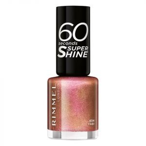 Rimmel 60 Seconds Glitter Nail Polish Fab
