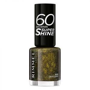 Rimmel 60 Seconds Glitter Nail Polish On Fleek
