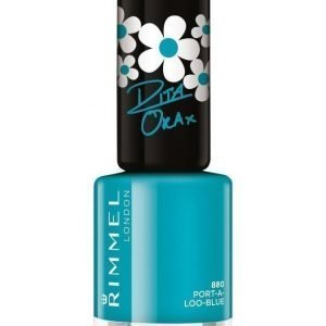 Rimmel 60 Seconds Super Shine Kynsilakka Port A Loo Blue By Rita Ora
