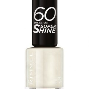Rimmel 60 Seconds Super Shine Kynsilakka Silver Bullet