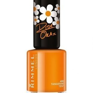 Rimmel 60 Seconds Super Shine Kynsilakka Tangerine Tent By Rita Ora
